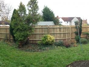 Post & rail fence 3