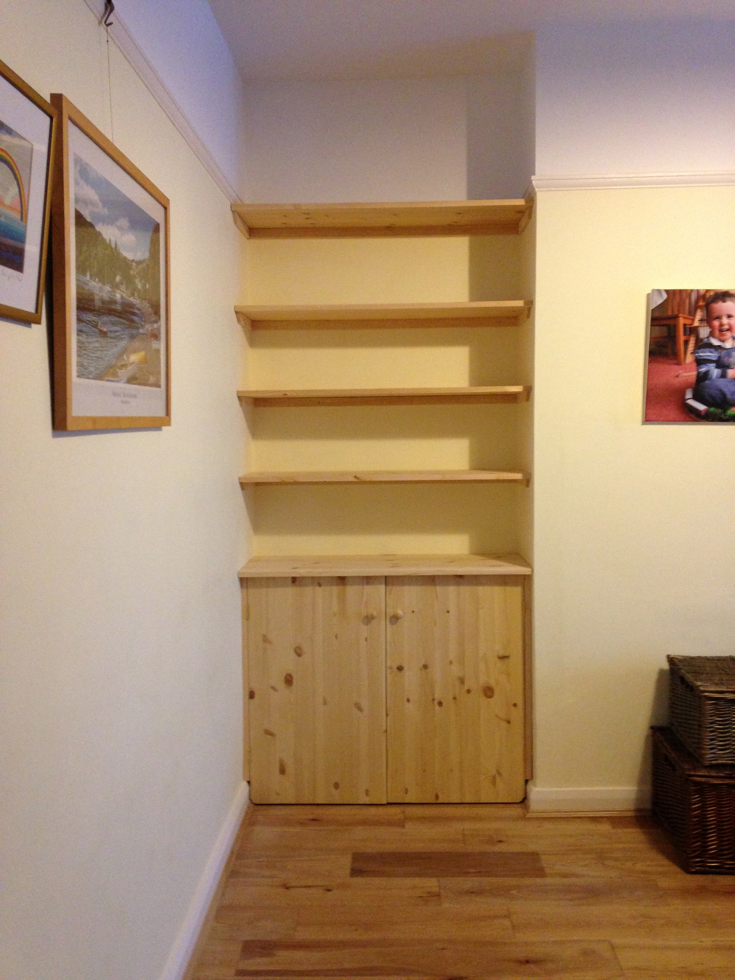 Fitted Shelving Cupboards And Flooring P D Carpentry Amp Building Cambridge