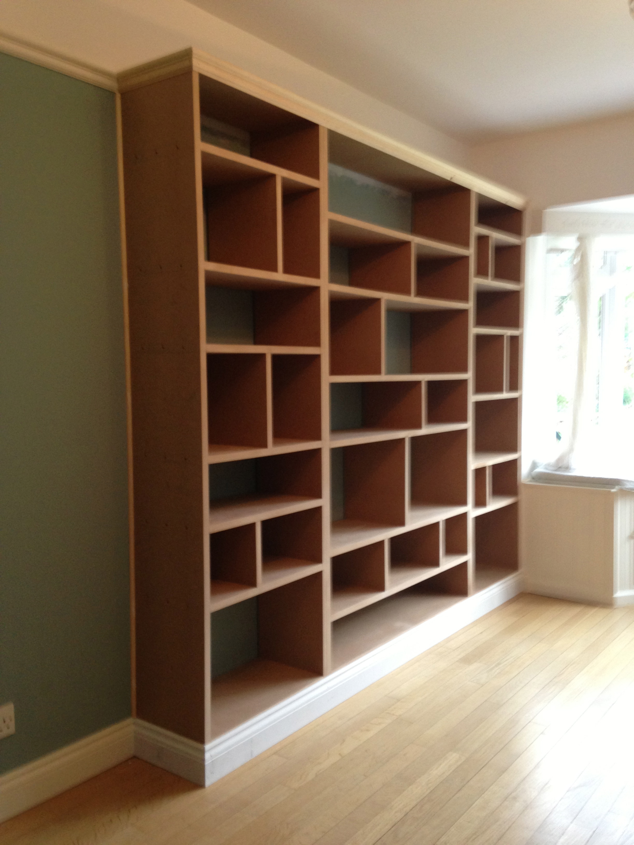 Bedroom Shelving Fitted Shelving Cupboards And Flooring P D Carpentry